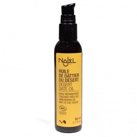 Ekologiškas balanitų aliejus odos priežiūrai Desert Date, Najel, 80ml