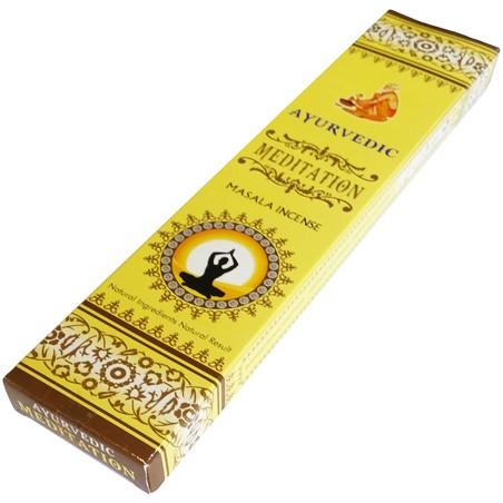 Smilkalų lazdelės Meditation Masala, Ayurvedic,15 g