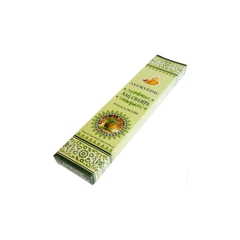 Smilkalų lazdelės Nag Champa Masala, Ayurvedic,15 g