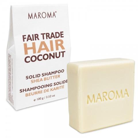 Kietas šampūnas Coconut&Shea, Maroma, 100g