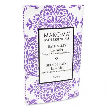 Vonios druska su levandomis Lavender, Maroma, 60g