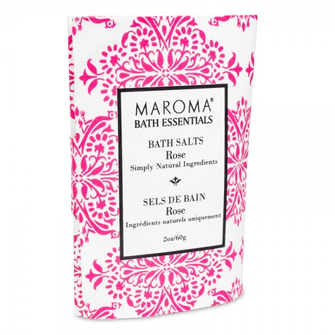 Vonios druska su rožėmis Rose, Maroma, 60g