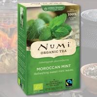 Marokiškos mėtos natūrali Numi Tea arbata