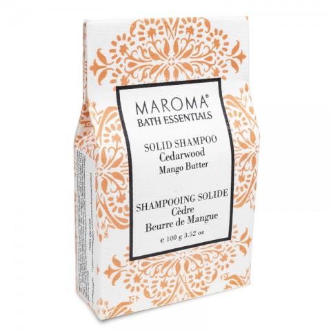 Kietas šampūnas Cedarwood, Maroma, 100g