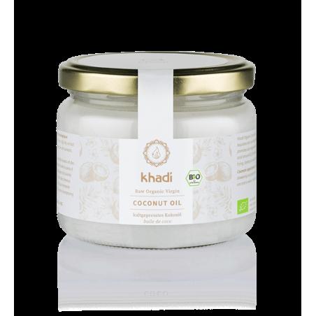 Šalto spaudimo nerafinuotas kokosų aliejus Coconut Oil, Khadi, 100ml