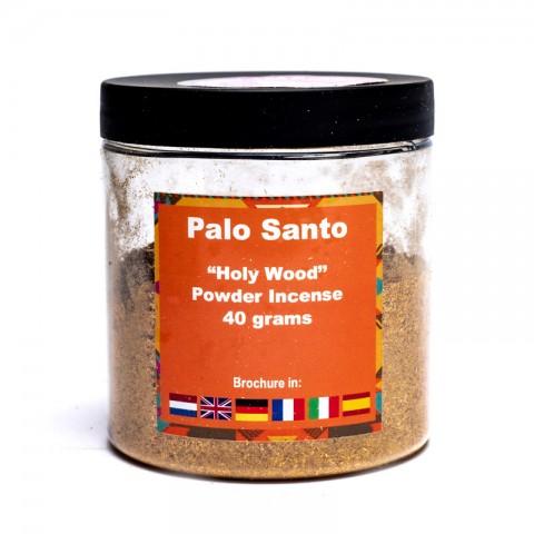 Švento medžio Palo Santo smulkios granulės smilkymui, 40g