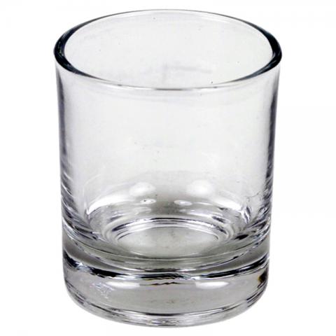 Stiklinė apeiginėms žvakėms ar arbatinėms žvakutėms
