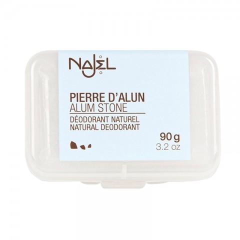 Natūralus dezodorantas kalio alūno akmuo su dėkliuku, Najel, 90g