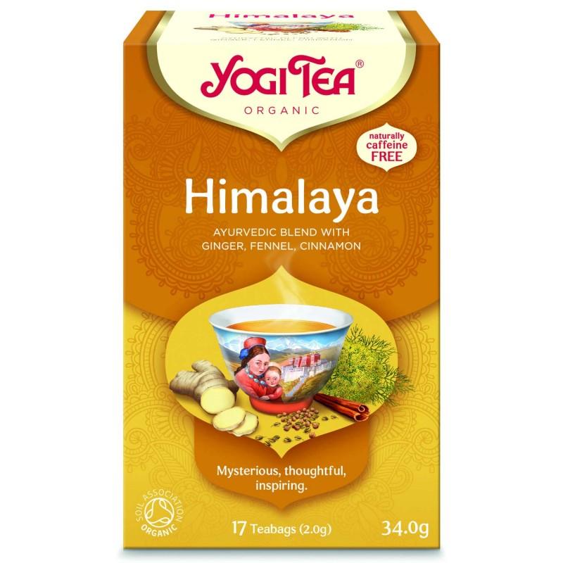 Prieskoninė Himalajų arbata Himalaya, Yogi Tea, ekologiška, 17 pakelių
