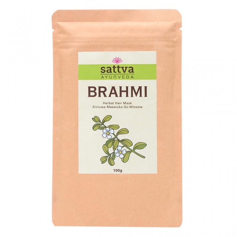 Brahmi (mėlynžiedės taškuonės) milteliai,  Sattva Ayurveda, 100g