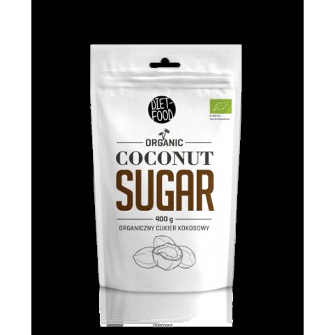 Kokosų cukrus Coconut Sugar, ekologiškas, Diet Food, 400g