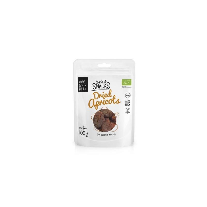 Džiovinti abrikosai Apricots, ekologiški, Diet Food, 100g