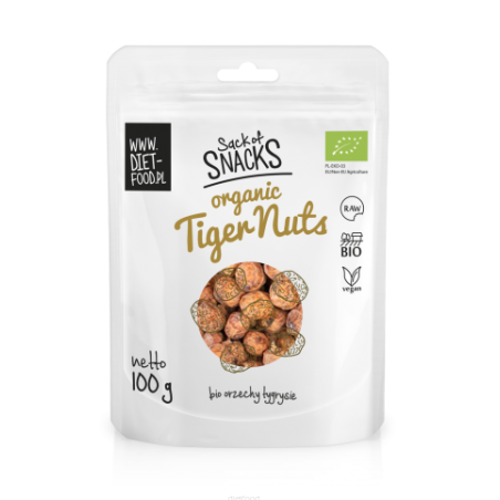 Tigriniai riešutai Tiger Nuts, ekologiški, Diet Food, 100g