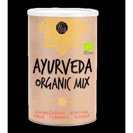Ajurvedinių žolelių mišinys Super Ayurveda Mix, ekologiškas, Ayurveda Line, 300g