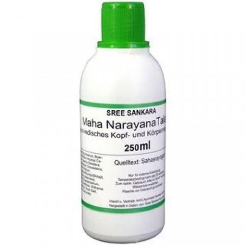 Masažo aliejus sąnariams Mahanarayana Thailam, Sree Sankara, 250 ml