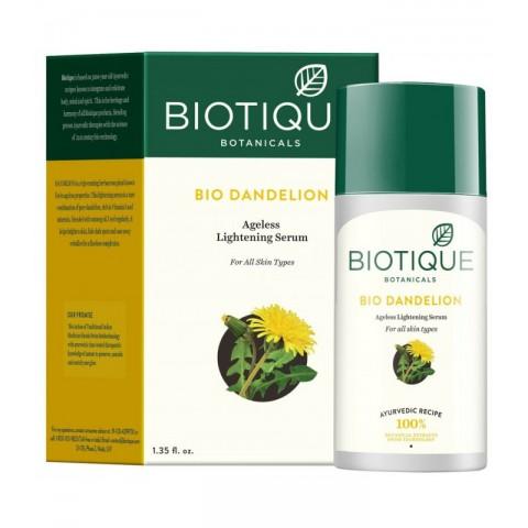 Skaistinamasis serumas su kiaulpienių ekstraktu Dandelion BIO, Biotique, 40ml