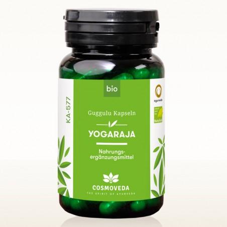 Ekologiškas maisto papildas Yogaraja Guggulu Bio, Cosmoveda, 80 kapsulių
