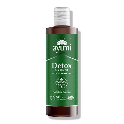 Valantis kūno masažo aliejus Detox, Ayumi, 250 ml