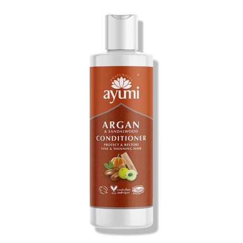 Atkuriantis plaukų kondicionierius Argan & Sandalwood, Ayumi, 250 ml