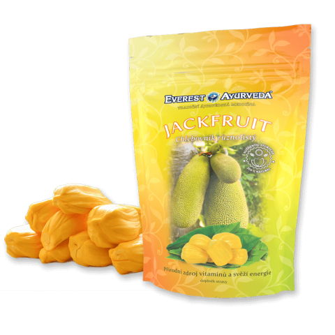 Džiovinti duonmedžio vaisiai Jackfruit, Everest Ayurveda, 100g
