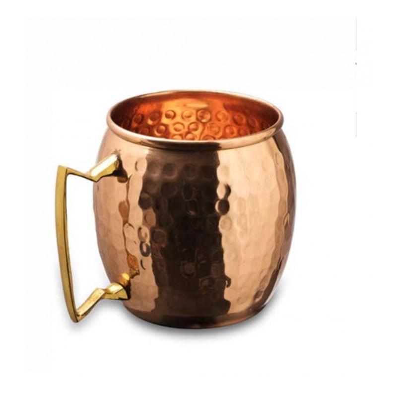 Varinis puodelis su rankenėle AyurVedica, 0,45l