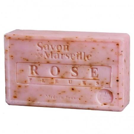 Natūralus muilas Rose Petals, Savon de Marseille, 100g