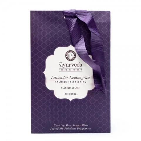Ajurvedinis pakabinamas kvapnus paketėlis Tridosha Lavender Lemongrass Potpourri, 20g
