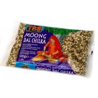 Skaldytos spindulinės pupuolės (moong dal chilka), TRS, 500g