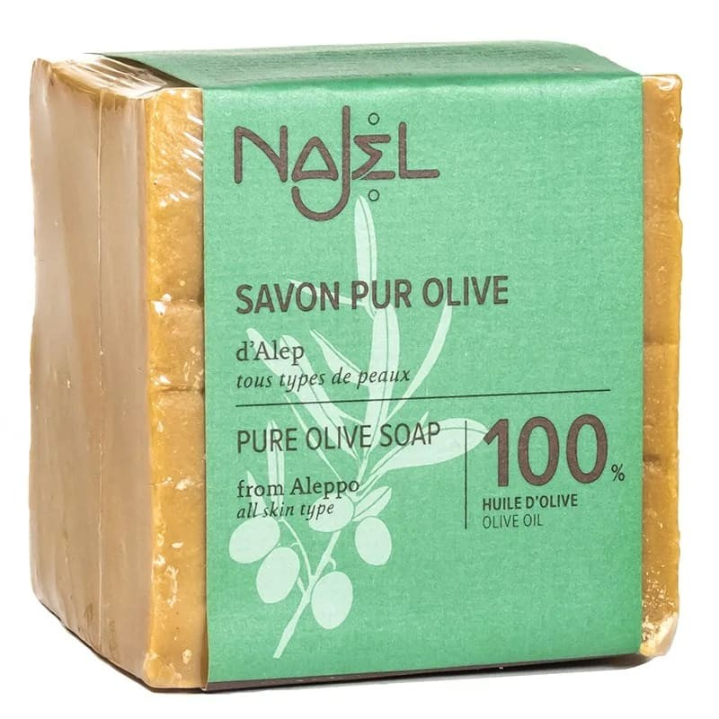 Gryno alyvuogių aliejaus muilas Aleppo, Najel, 200g
