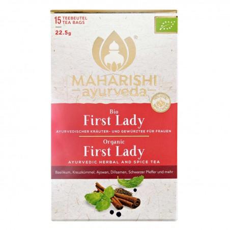 Ajurvedinė žolelių ir prieskonių arbata moterims First Lady, Maharishi Ayurveda, 15 pakelių