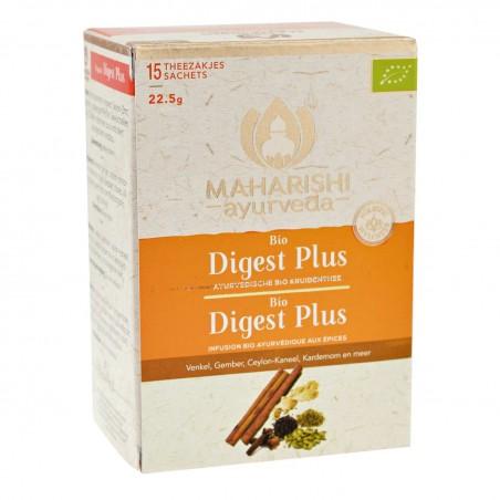 Ajurvedinė žolelių ir prieskonių arbata Digest Plus, Maharishi Ayurveda, 15 pakelių
