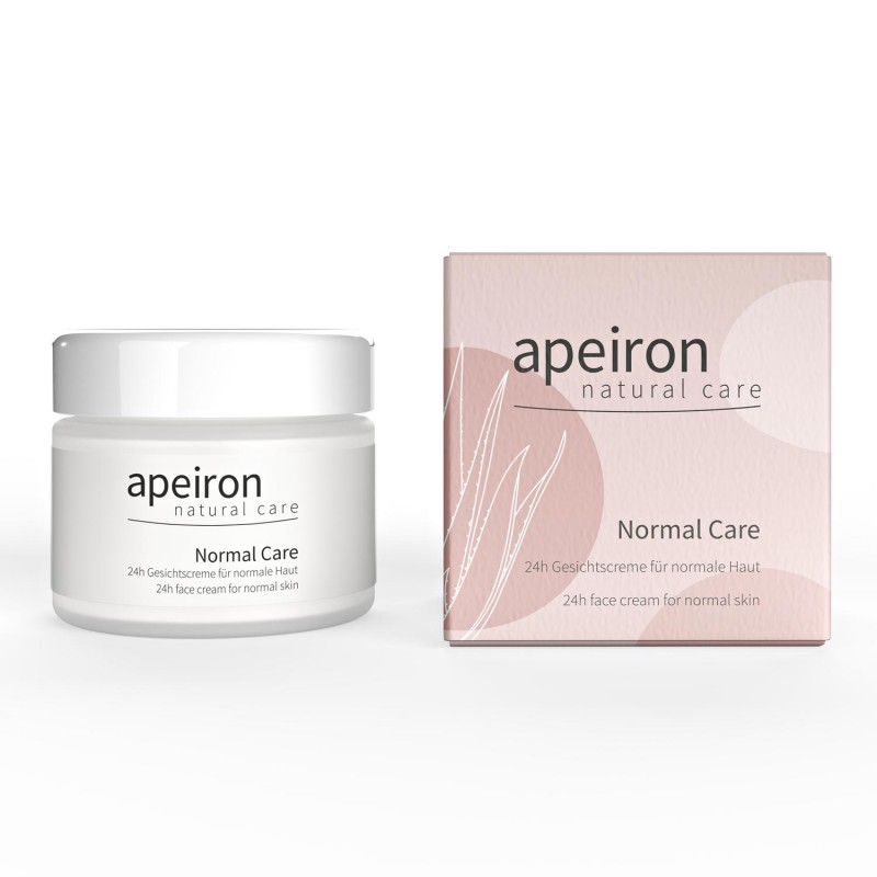 Drėkinantis veido kremas Normal Care, Apeiron, 50 ml