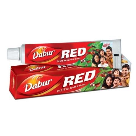 Dantų pasta su 7 vaistiniais augalais DABUR RED