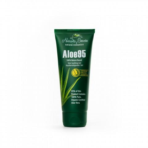 Raminamasis odos gelis su alaviju Aloe 95, Natures Secrets, 100ml