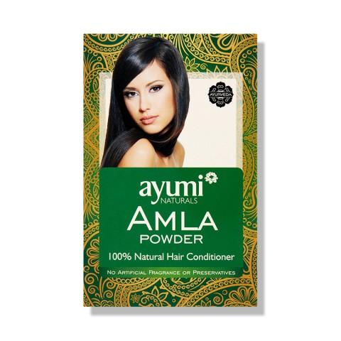 Indiškojo lapainio vaisiaus milteliai plaukams Amla, Ayumi, 100g