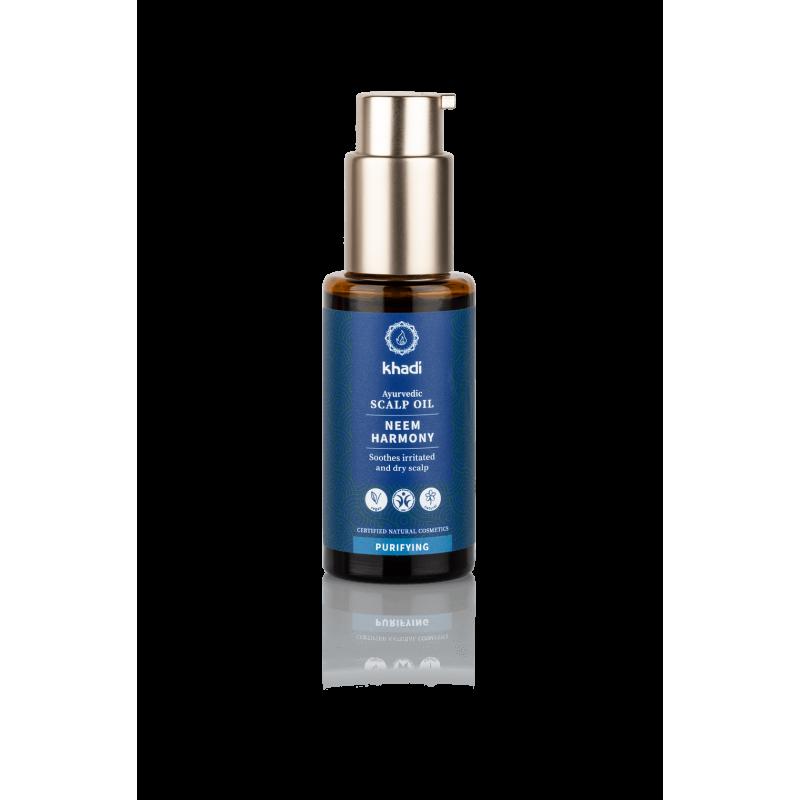 Valantis plaukų aliejus Neem Harmony, Khadi Naturprodukte, 50 ml