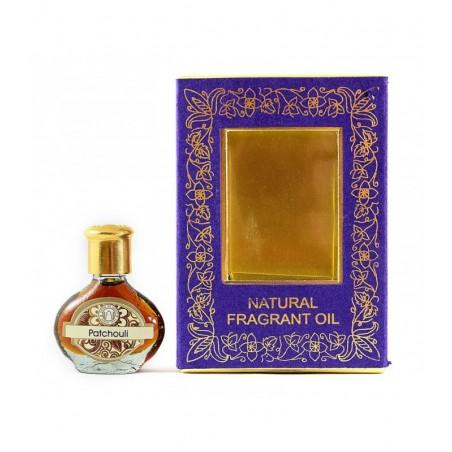 Aliejiniai kvepalai buteliuke Patchouli, Song of India, 3ml