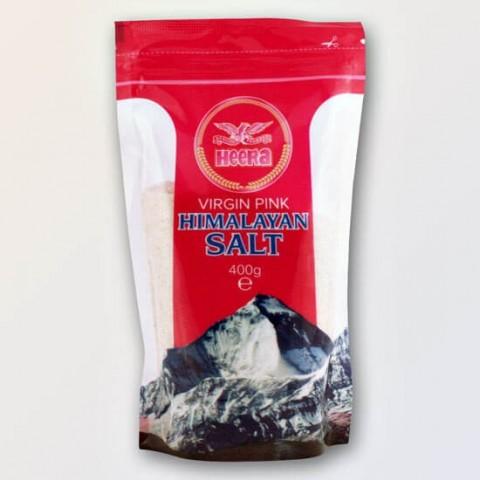 Rožinė Himalajų druska Heera, smulkinta, 400 g
