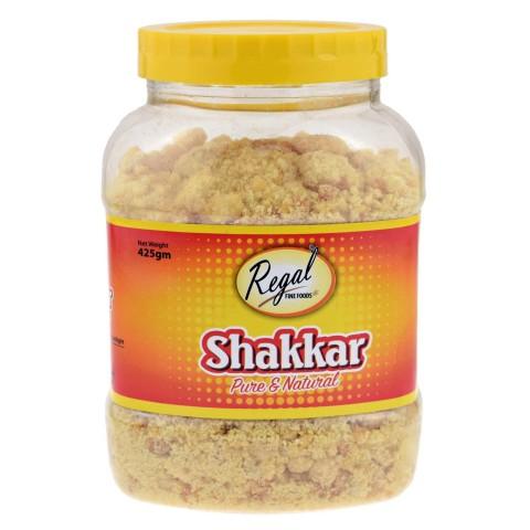 Nerafinuotas cukranendrių cukrus Shakkar Jaggery, 500 g