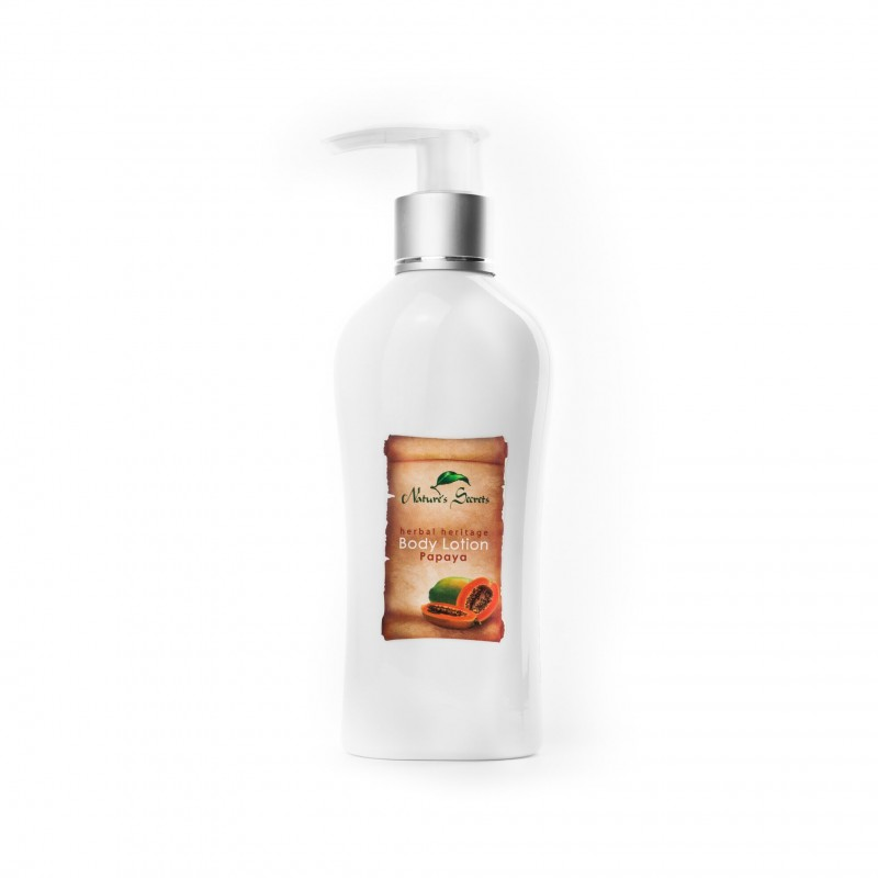 Kūno losjonas Papaya, Natures Secrets, 210ml