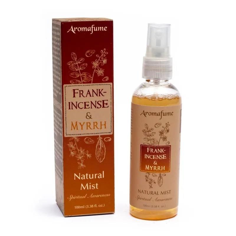 Purškiamas namų kvapas Frankincense & Myrrh, Aromafume, 100ml