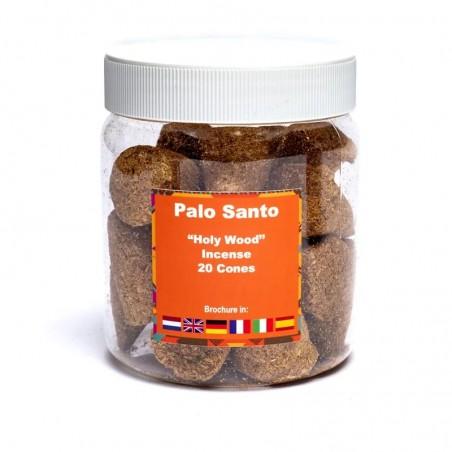 Kūginiai pjuvenų smilkalai Palo Santo Sacred Wood, Yogi&Yogini, 20 vnt.