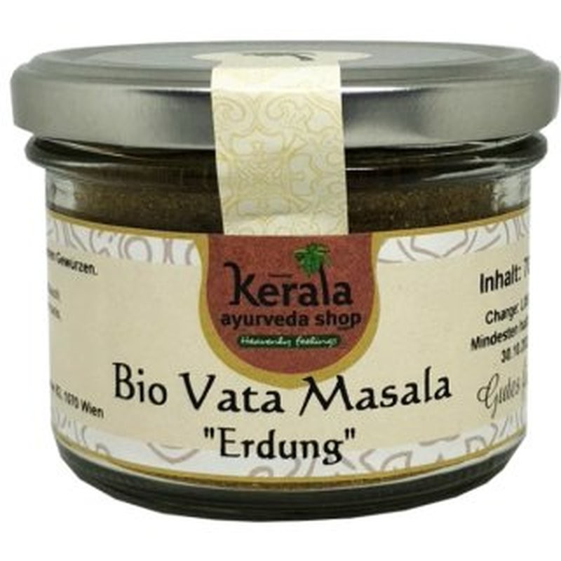 Vata došą balansuojantis prieskonių mišinys Erdung, ekologiškas, Kerala Ayurveda, 70g