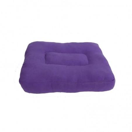 Purpurinė meditacijos pagalvėlė vaikui ar kelionei
