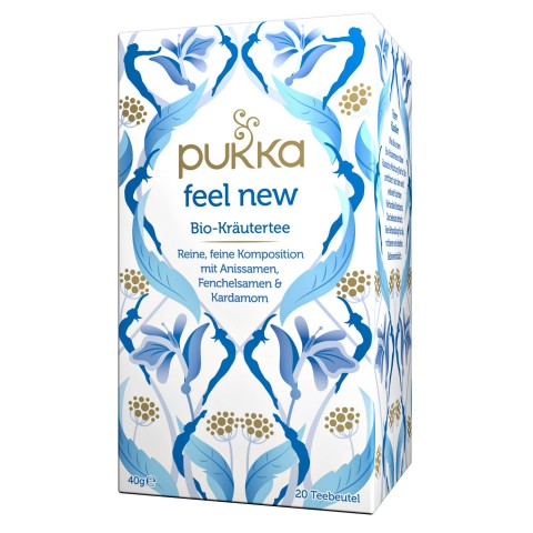Arbata Feel New, ekologiška, Pukka, 20 pakelių