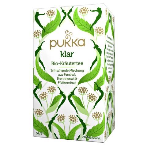 Valanti arbata Cleanse, ekologiška, Pukka, 20 pakelių