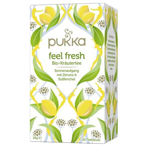 Energizuojanti arbata Feeel Fresh, ekologiška, Pukka, 20 pakelių