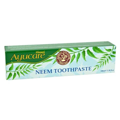 Nimbamedžio dantų pasta Neem, Ayucare, 100ml