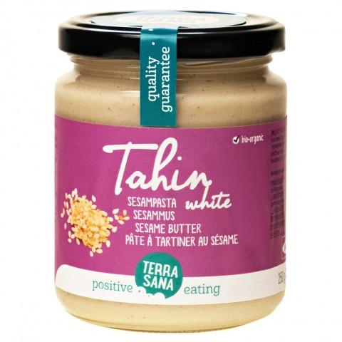 Šviesi sezamų pasta Tahini, ekologiška, Terra Sana,  250 g