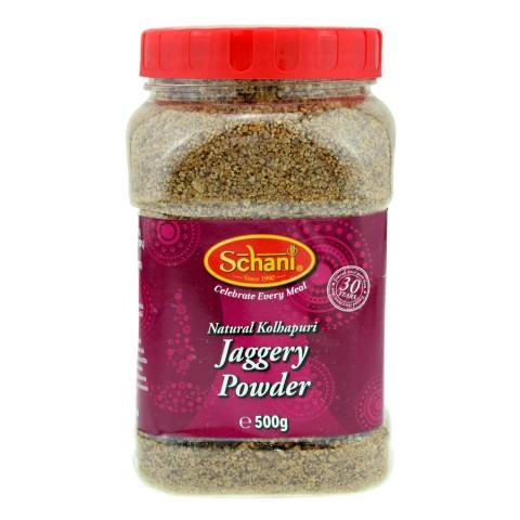 Smulkus nerafinuotas cukranendrių cukrus Jaggery Powder, Schani, 500 g